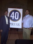 Nick Dimassis, Editorial Director and Joe Riley, Publisher