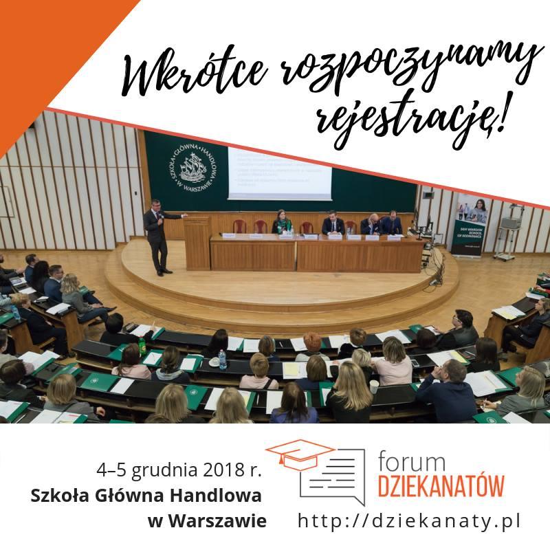 II Forum Dziekanatów w SGH