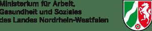 Logo Ministerium für Arbeit, Gesundheit und Soziales des Landes NRW
