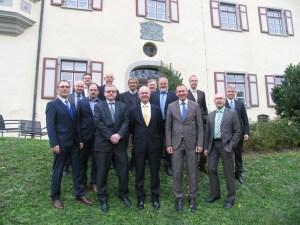 Mitglieder des Netzwerks bei der Gründung