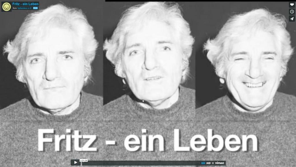 Screenshot des Films Fritz - ein Leben