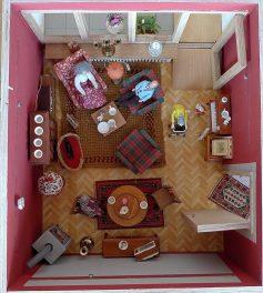 von oben fotografiert: Beispiele für Wohnberatung