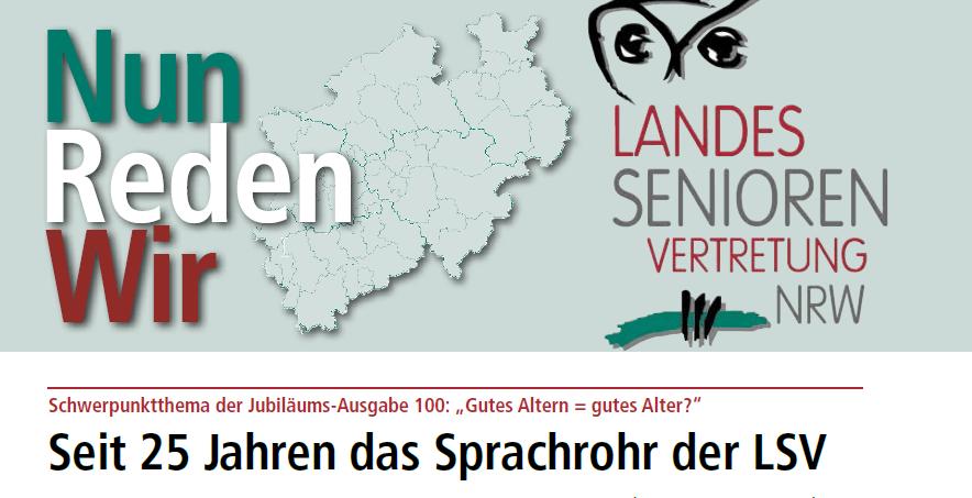 Cover Nun Reden Wir - Ausgabe 100