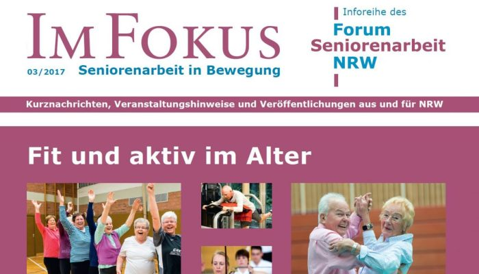 Im Fokus 3/2017: Fit und aktiv im Alter