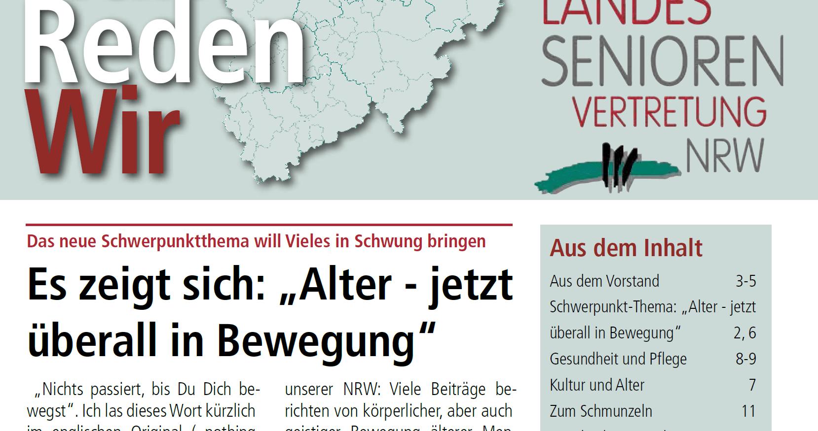 Cover Nun Reden Wir Ausgabe 103