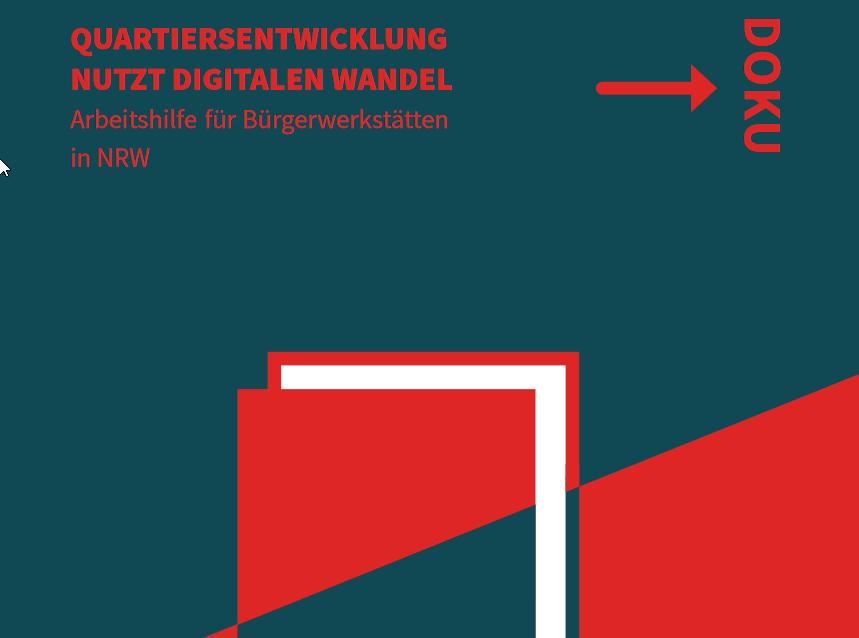 Broschüre Quartiersentwicklung