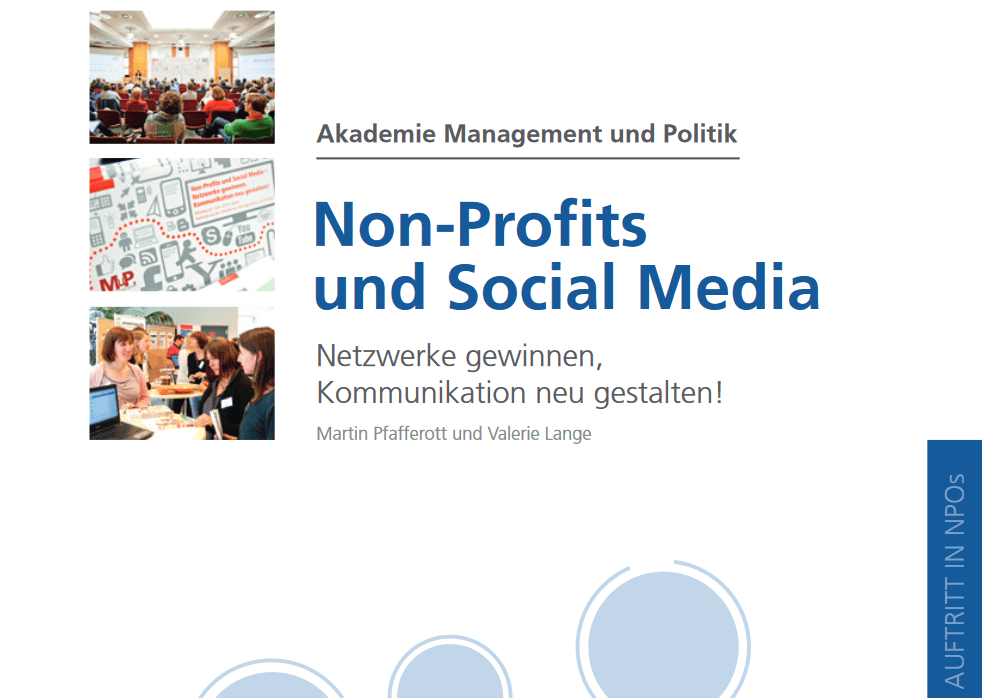 Screenshot Non-Profit und Social Media