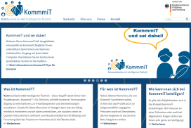 Screenshot webseite KommmiT