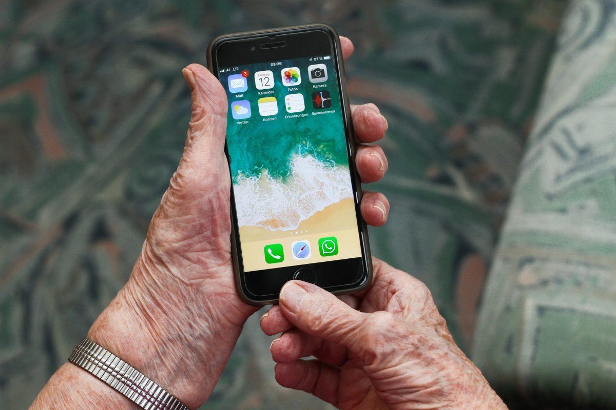 Bild:Wo stehen ältere im Netz?