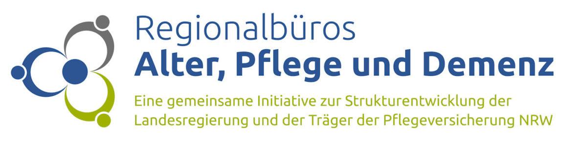 Logo Regionalbüros, Alter, Pflege und Demenz
