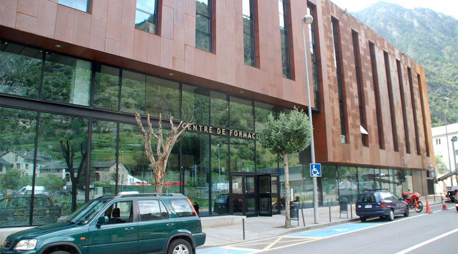 El centre de formació professional d'Aixovall