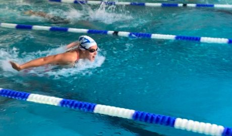 La nadadora de l'equip nacional, Nàdia Tudó