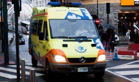 Una ambulància del SUM