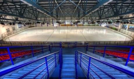 La pista de gel del Palau de Gel de Canillo