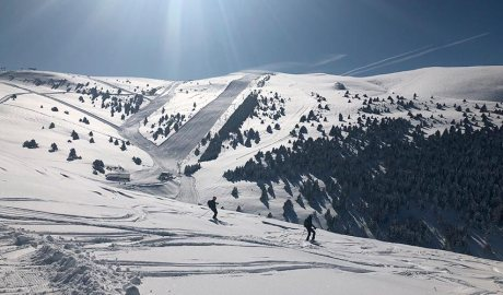 pistes d'esquí de la Molina
