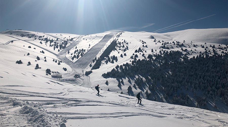 Una de les estacions de esquí del Pirineu català