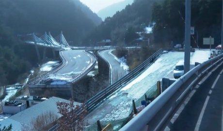 La rotonda d'accés al túnel de les Dos Valires preveu la connexió amb la desviació de la Massana