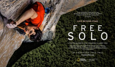 Cartell promocional Free Solo