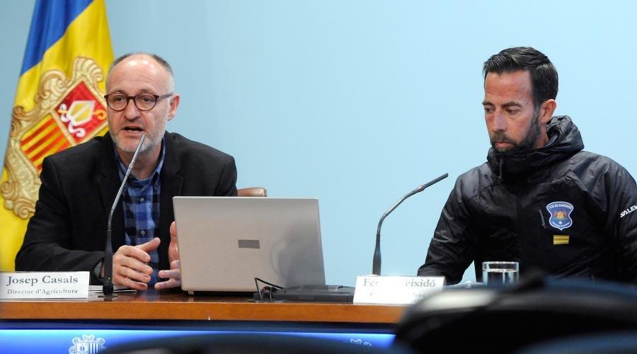 Casals i Teixidó presenten el balanç del cens caní