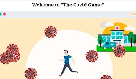 Imatge del videojoc 'The Covid Game' (Marc Llovera)