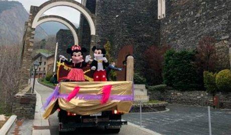 El Mickey i la Minnie a Mertixell