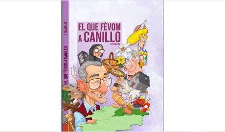 Portada del còmic El que févom a Canillo, de Jordi Planellas