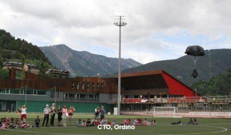 El centre de tecnificació esportiva a Ordino
