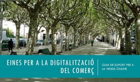 Una pàgina de la Guia de comerç digital de la Seu d'Urgell