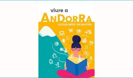 Portada del llibret Viure a Andorra