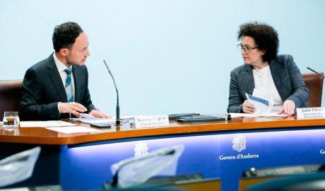 Xavier Espot i Judith Pallarès