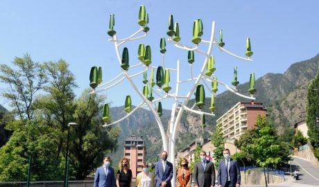 arbre de vent a Santa Coloma