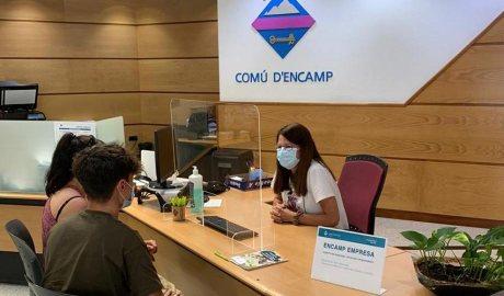 Punt d'informació d'Encamp Empresa