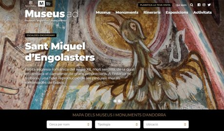 El portal museus.ad