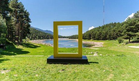 El Yellow Border de National Geographic al llac d'Engolasters