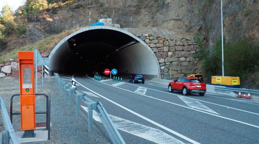 Túnel del Bordar a la N145