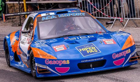 El cotxe d'Edgar Montellà