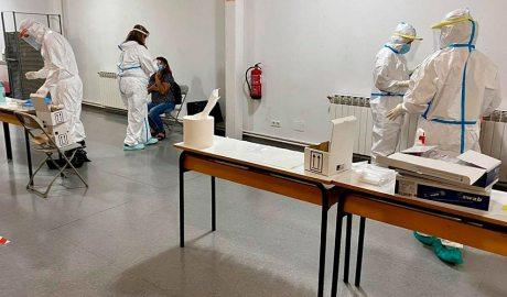 Proves PCR al Centre Cívic El Passeig de la Seu