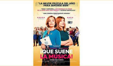 Cartell de la pel·lícula ¡Que suene la música!