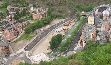 Tram del vial de Sant Julià de Lòria