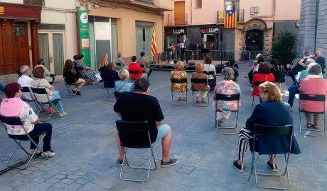 Acte institucional per l'11 de Setembre del 2020 a la Seu d'Urgell