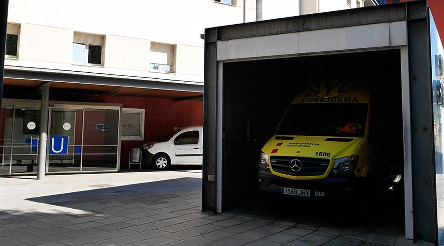 Ambulància del Sant Hospital de la Seu d'Urgell