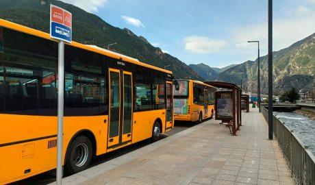 Autobusos a l'Estació Nacional