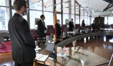 Sessió de consell de comú de Canillo