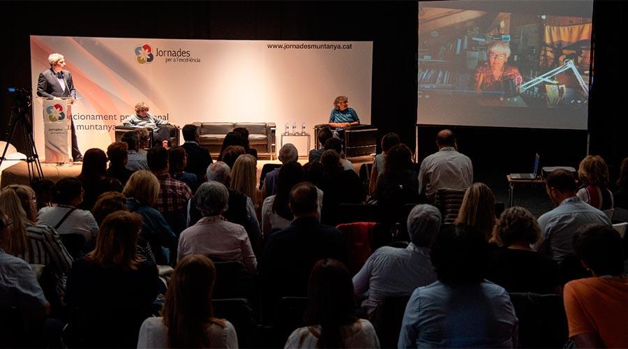 Una conferència de les Jornades per a l'excel·lència del 2019