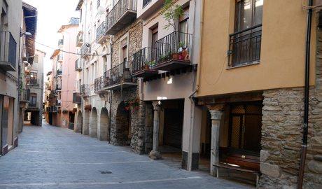 Porxos de la Seu d'Urgell