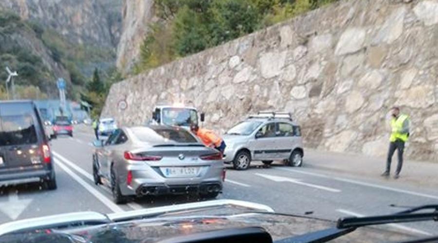 Accident de trànsit a la Margineda