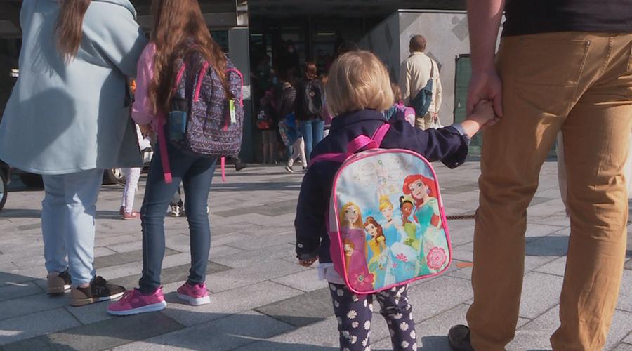 Alumnes de l'Escola Andorrana de Santa Coloma