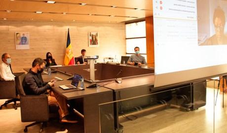 El Comú d'Ordino en el moment de saber que la Vall d'Ordino és reserva de la biosfera de la Unesco