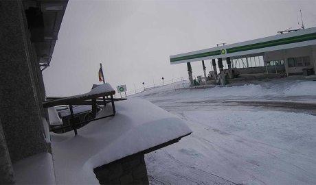 El Port d'Envalira cobert de neu