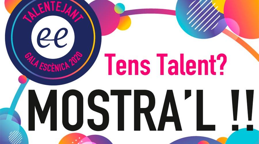 Cartell del Talentejant 2020